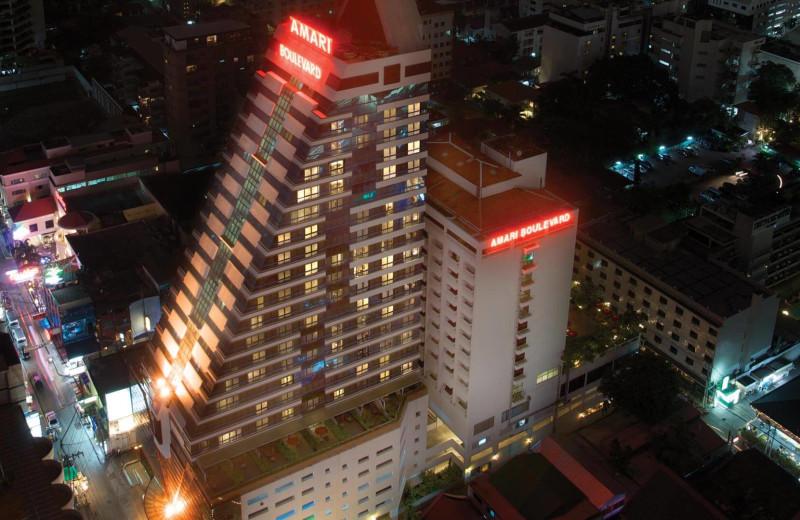 Exterior view of Amari Boulevard Hotel.