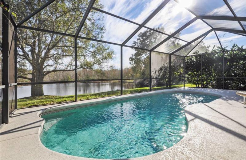 Swimming Pool at Advantage Vacation Homes