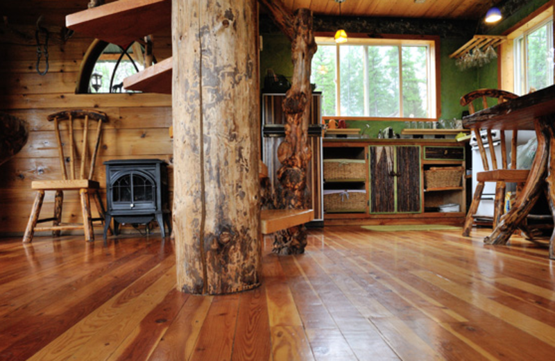 Interior view of Outa the Woods.
