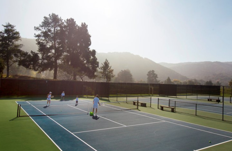 Tennis Courts at Carmel Valley Ranch