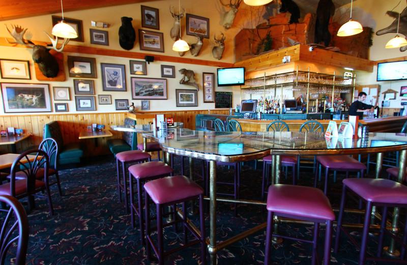 Dining at Superior Shores Resort.