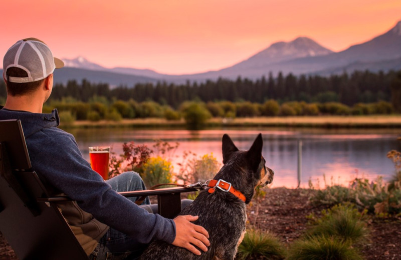Pets welcome at Black Butte Ranch.