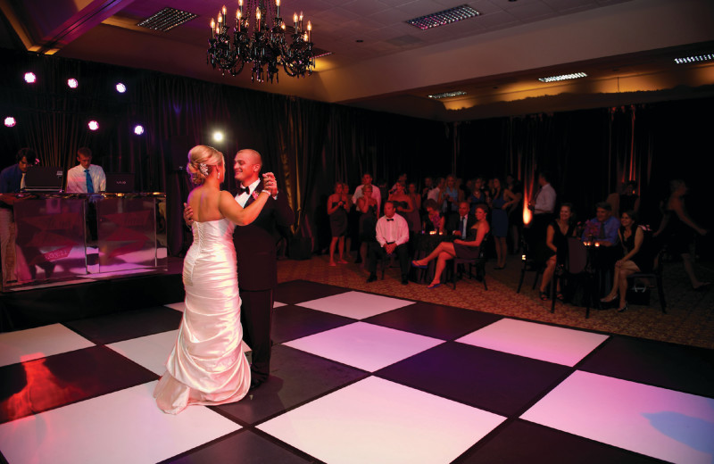 Wedding dance at Grand Traverse Resort and Spa.