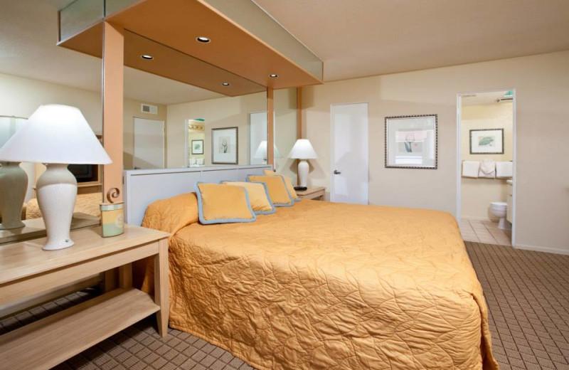 Guest room at Desert Vacation Villas.