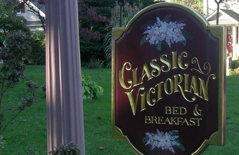 Welcome to Classic Victorian B & B.