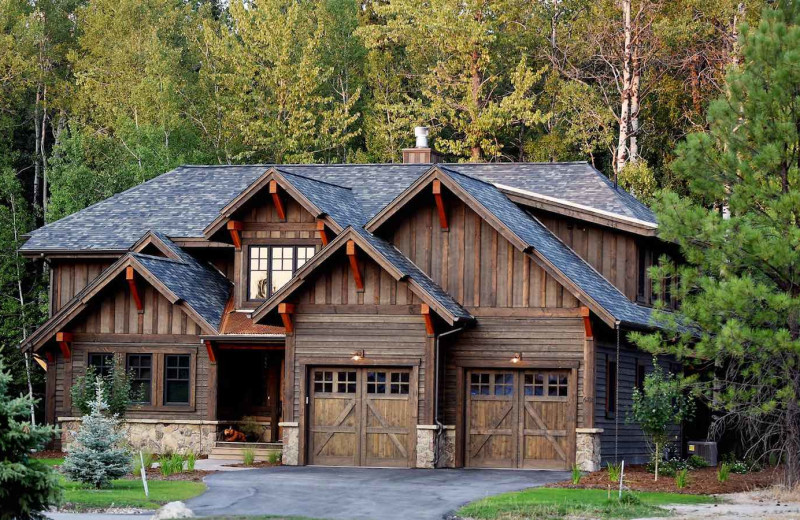 Rental exterior at The Lodge at Whitefish Lake.