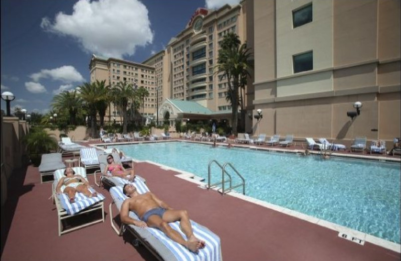 Outdoor pool at The Florida Hotel and Conference Center.
