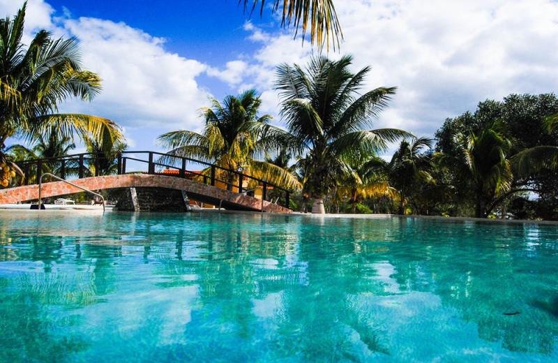 Outdoor pool at Playa Maya Resorts.