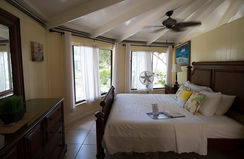 Guest room at Sandcastle.