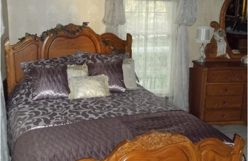 Victorian Room at The 1887 Hansen House Bed & Breakfast.