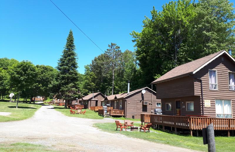 Cabin exterior at Sandy Lane Resort.
