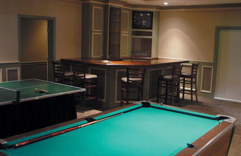 Game room at Interlaken Resort & Conference Center.
