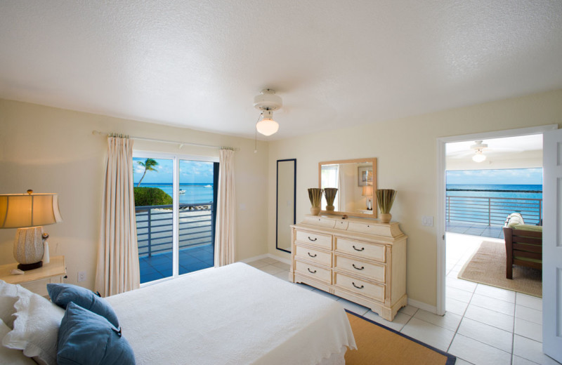 Guest room at Carib sands Beach Resort.