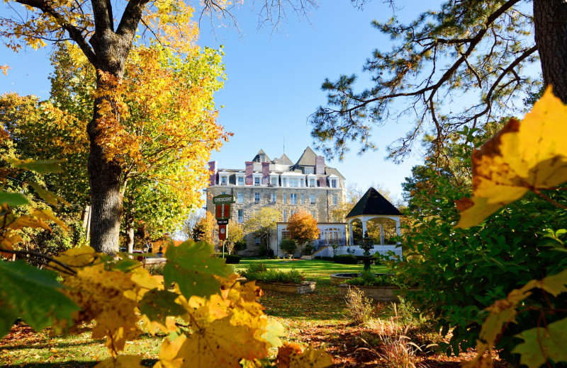 Fall at 1886 Crescent Hotel & Spa.