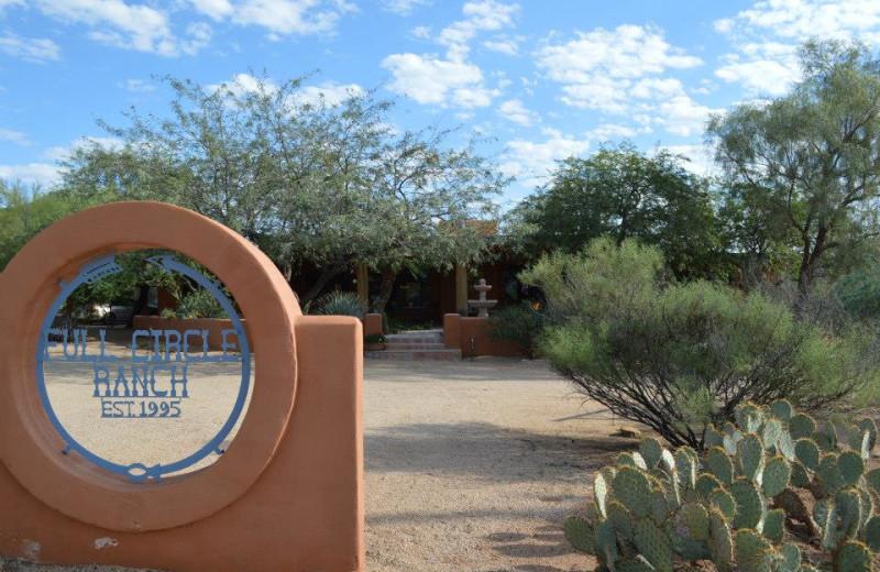 Exterior view of Full Circle Ranch B & B.
