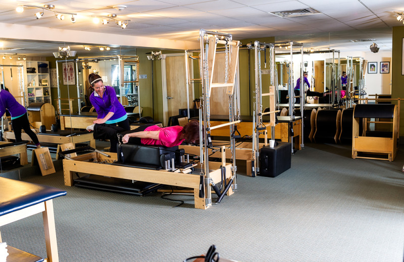 Personal trainers at Vail Mountain Lodge & Spa.
