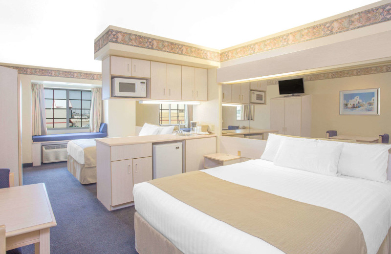 Guest room at Microtel Inn & Suites Yuma.