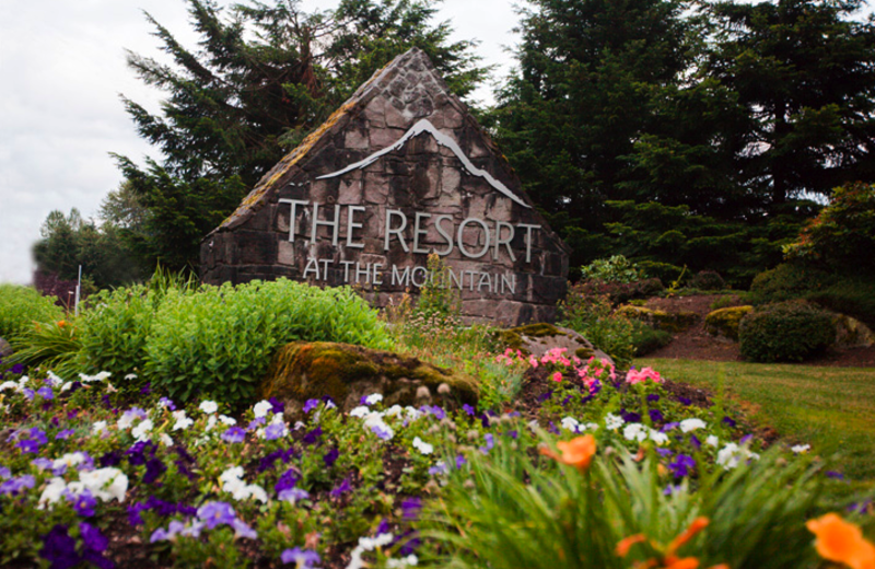 Entrance to The Resort at the Mountain.