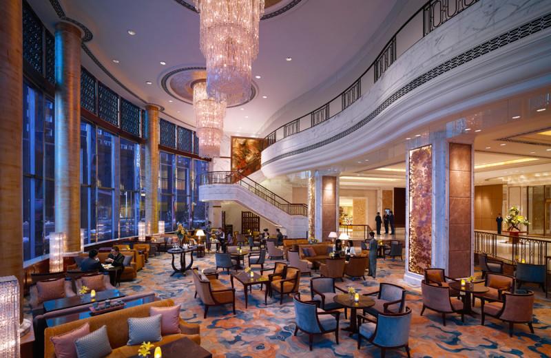 Lobby at Shangri-La Hotel-Changchun.