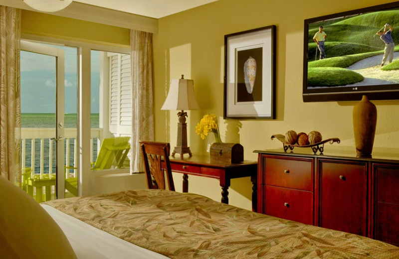 Guest bedroom at The Inn at Key West.