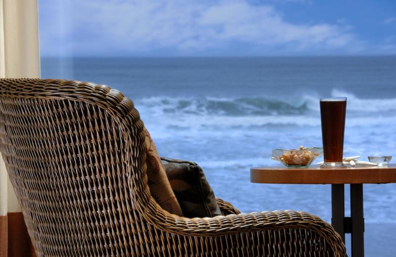Beach view at Long Beach Lodge Resort.