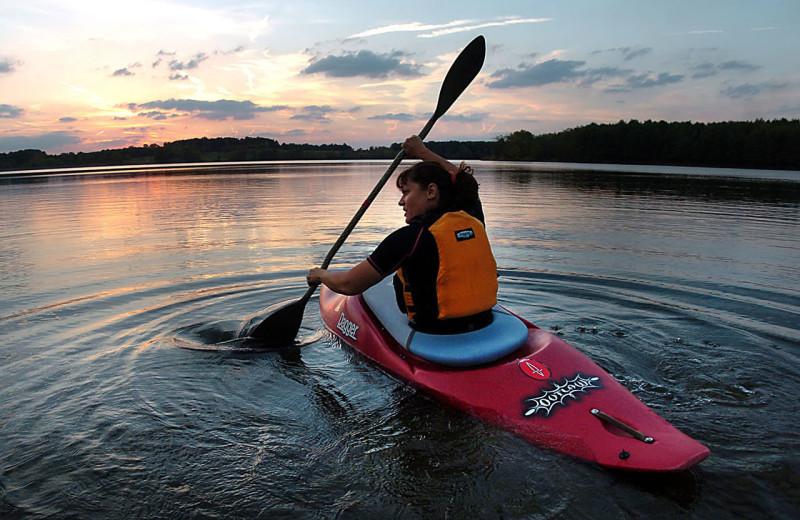 Kayaking at Casita Grove Vacation Home.