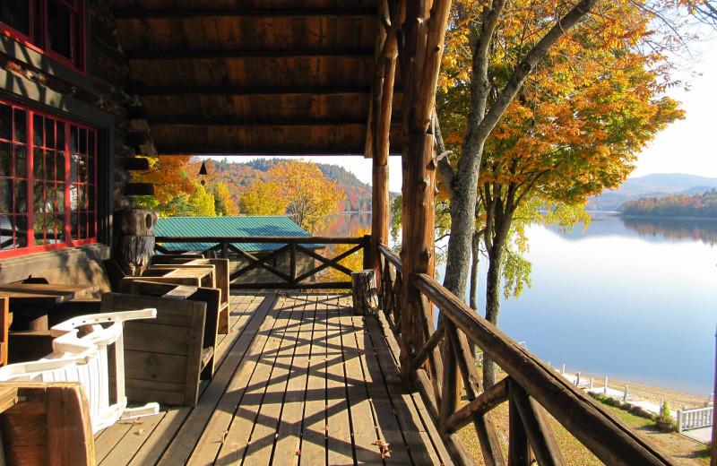 Fall colors at Timberlock.