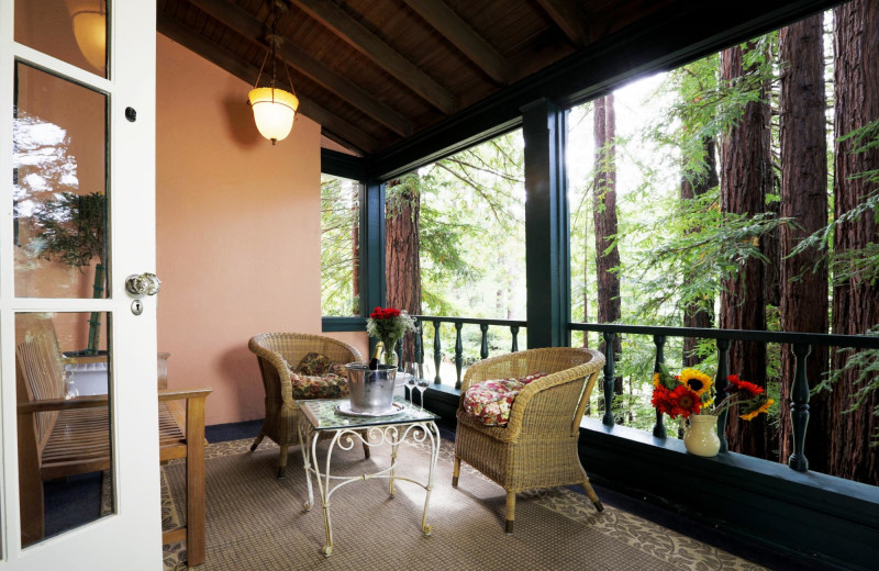 Balcony at Applewood Inn, Restaurant and Spa.