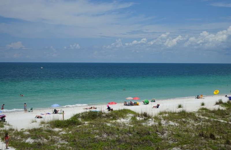 Easy beach access at Long Key Vacation Rentals