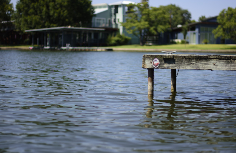 Lake at Big McDonald Resort.