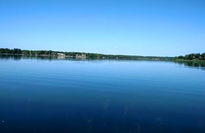 Lake view at Long Lake Resort.