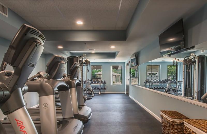 Gym at Valhalla Resort Hotel.