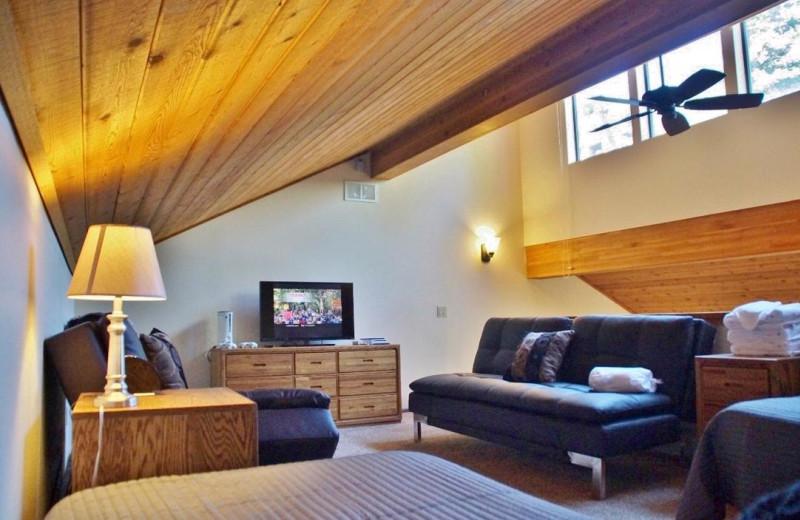 Rental loft at Nomadness Rentals.