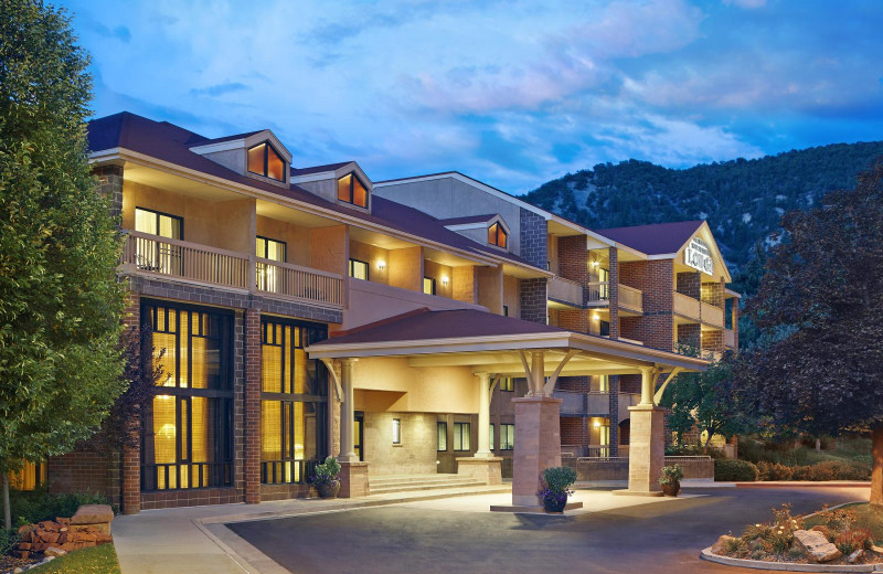 Exterior view of Glenwood Hot Springs Resort.
