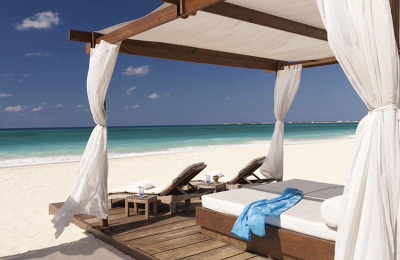 Beach at Ritz-Carlton Grand Cayman.