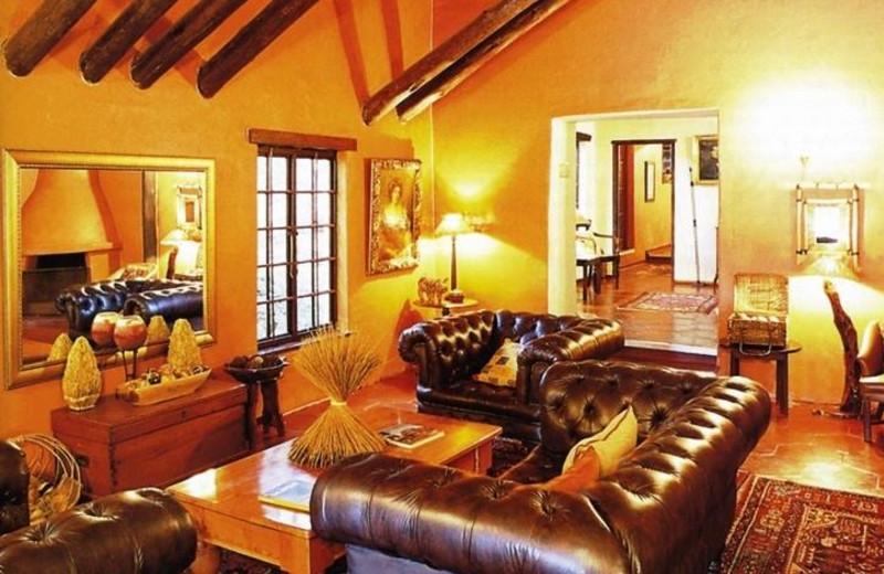 Interior view of Hulala Lakeside Lodge.