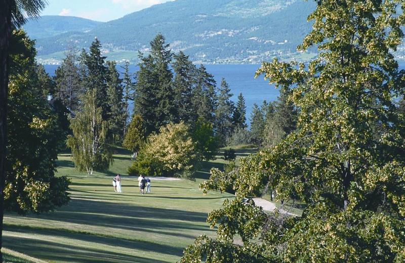Enjoy nature views at Lake Okanagan Resort