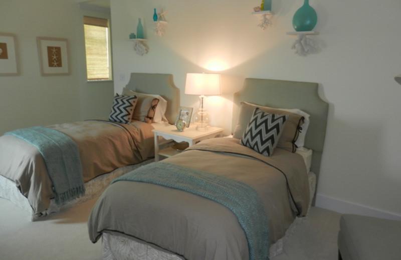 Guest bedroom at HG Christie Ltd.