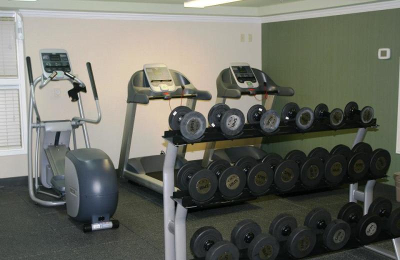 Fitness room at Hampton Inn & Suites Islamorada.
