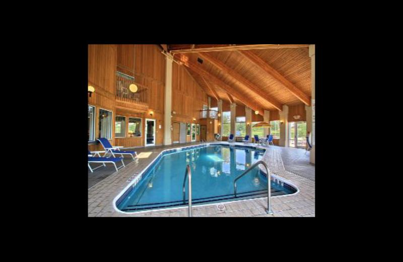 Indoor pool at Baymont InnSuites Howell.