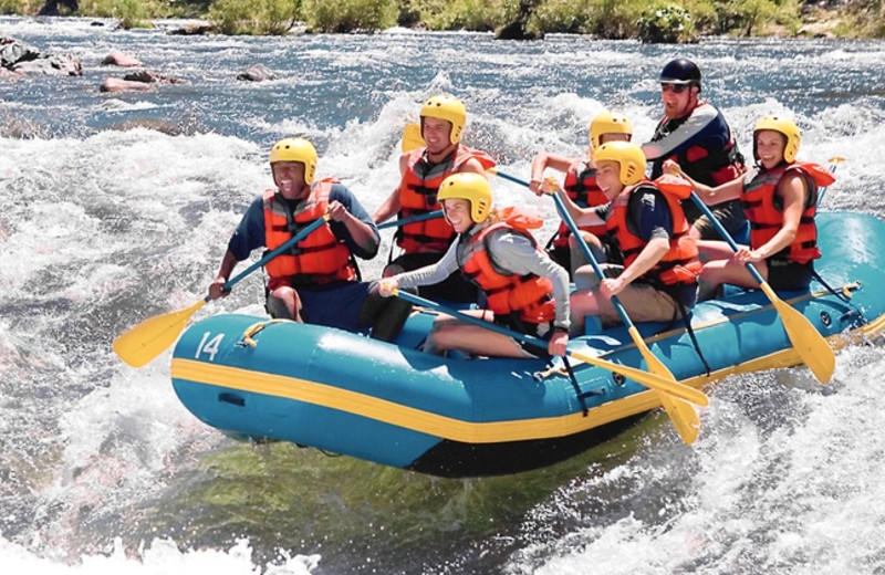 River rafting at Valhalla Resort & Vacation.