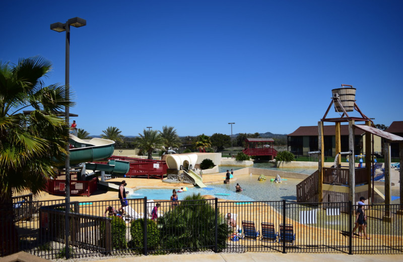 Water park at Flying L Hill Country Resort & Conference Center.