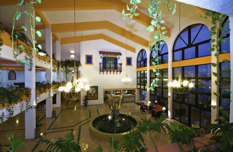 Lobby and Front Desk at Hotel Cozumel & Resort