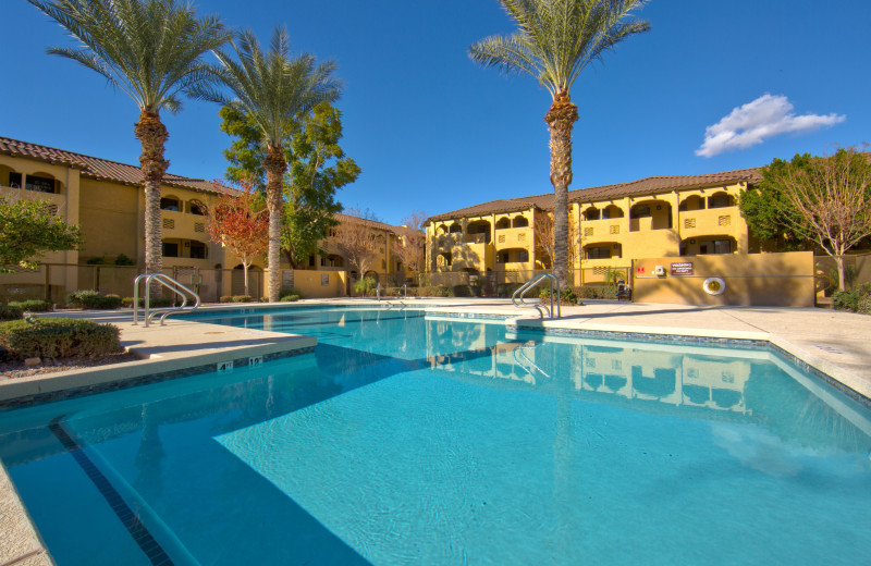 Outdoor pool at Holiday Inn Club Vacations Scottsdale Resort.