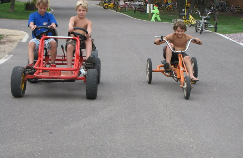 Bike Rentals at Merry Mac's Campground