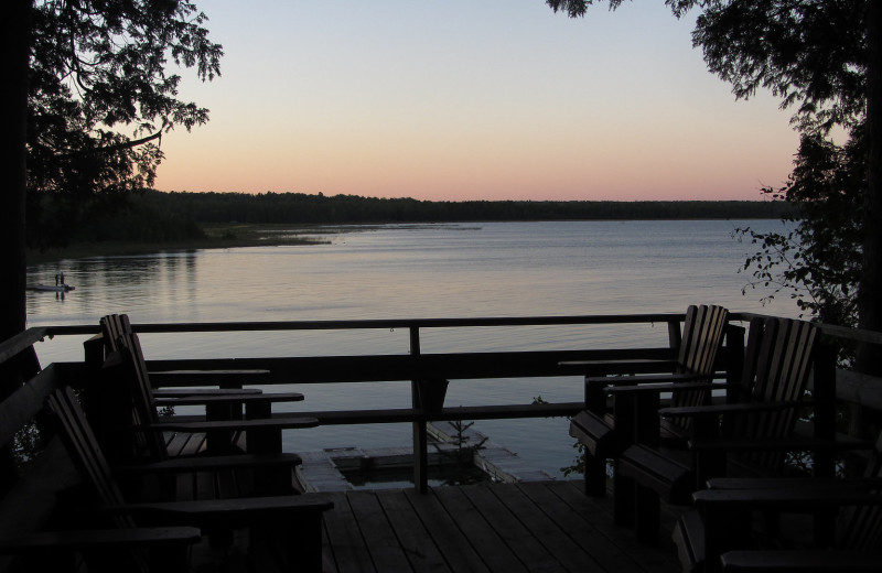 Lake view at Black Rock Resort.
