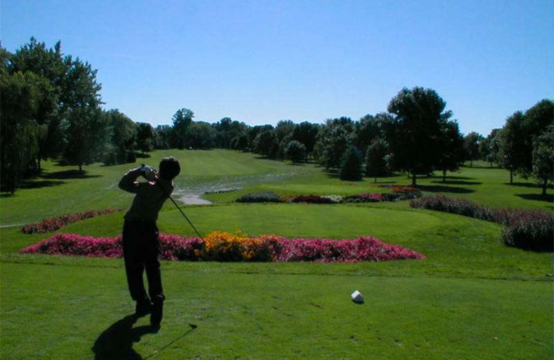 Golf course near Foscoe Rentals.