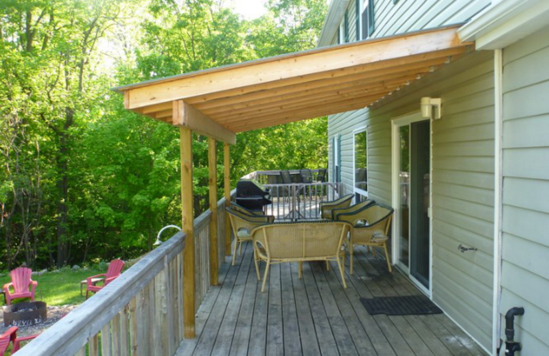 Deck at Myers Cave Resort.