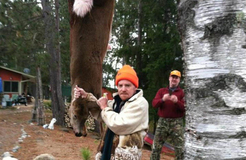 Hunting at Evergreen Point Resort.