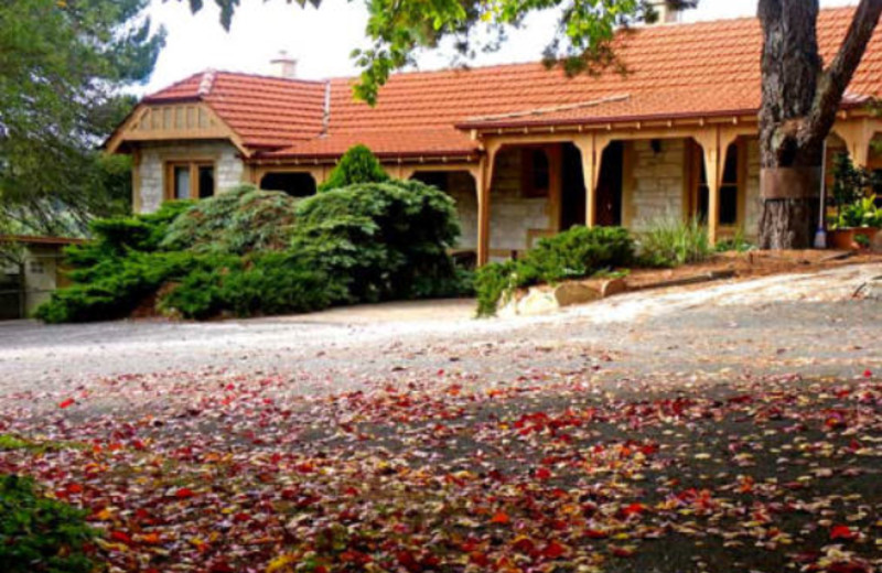 Exterior view of Marble Lodge Luxury Bed & Breakfast.